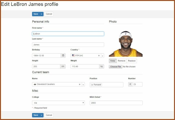 Php Gui Form Builder
