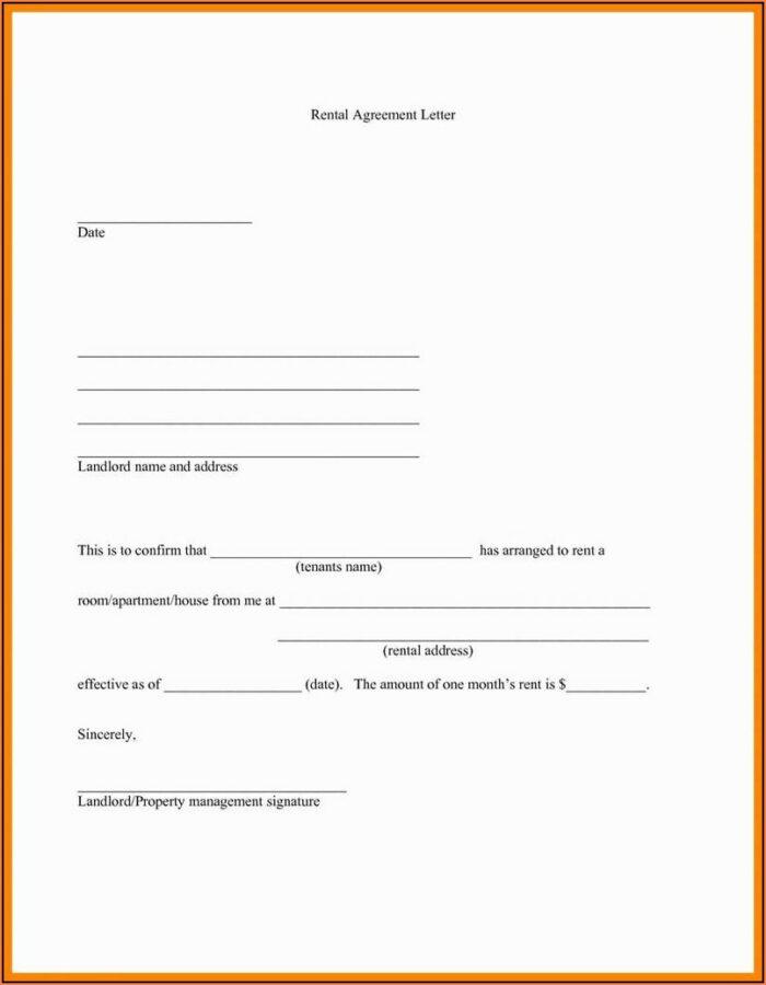 Rent Agreement Form California