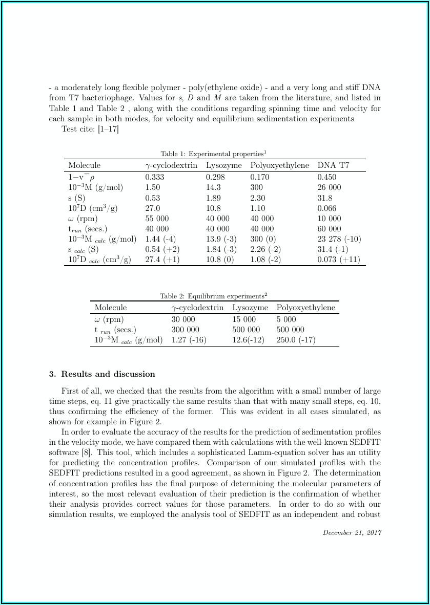 Shelf Life Analysis Report Template