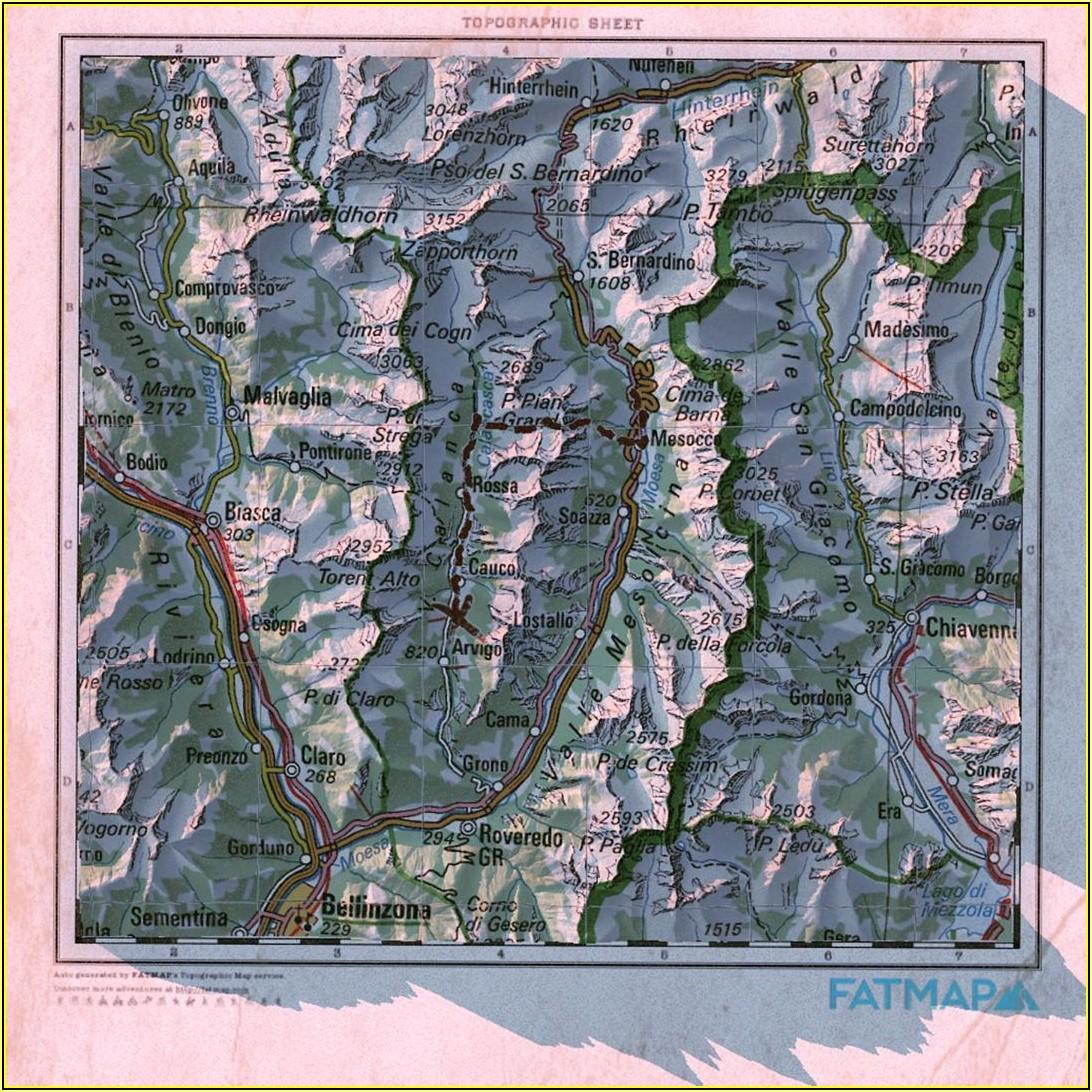 Swisstopo Hiking Maps