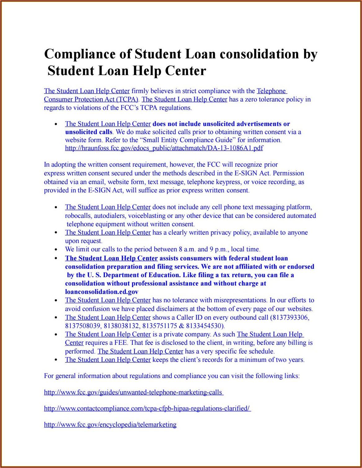 Tcpa Express Written Consent Form