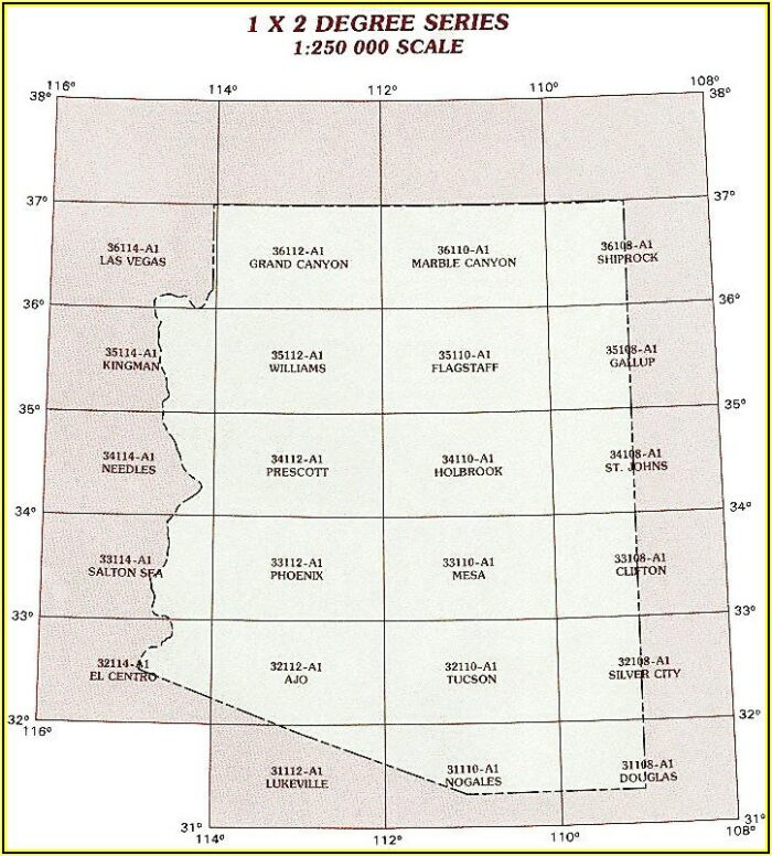 Topo Maps Arizona