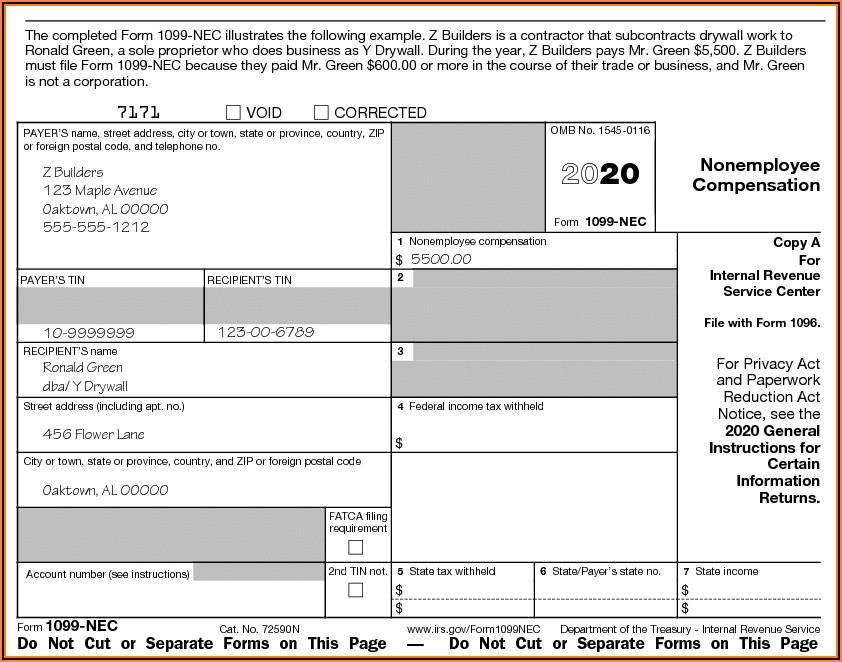 Us Internal Revenue Service Form 1099