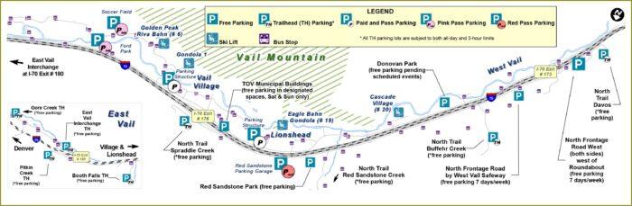 Vail Village Hotel Map