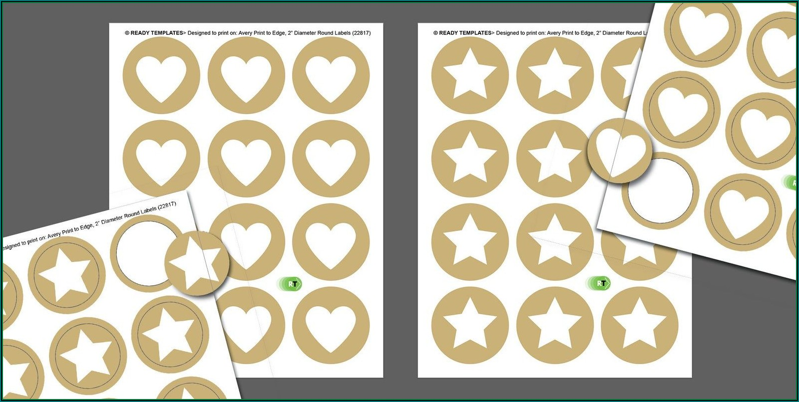 Avery Round Stickers Template