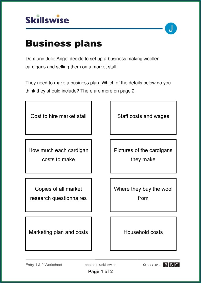 Bankable Business Plan Template