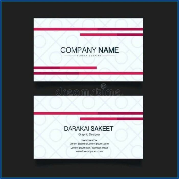 Business Card Template Avery 8871