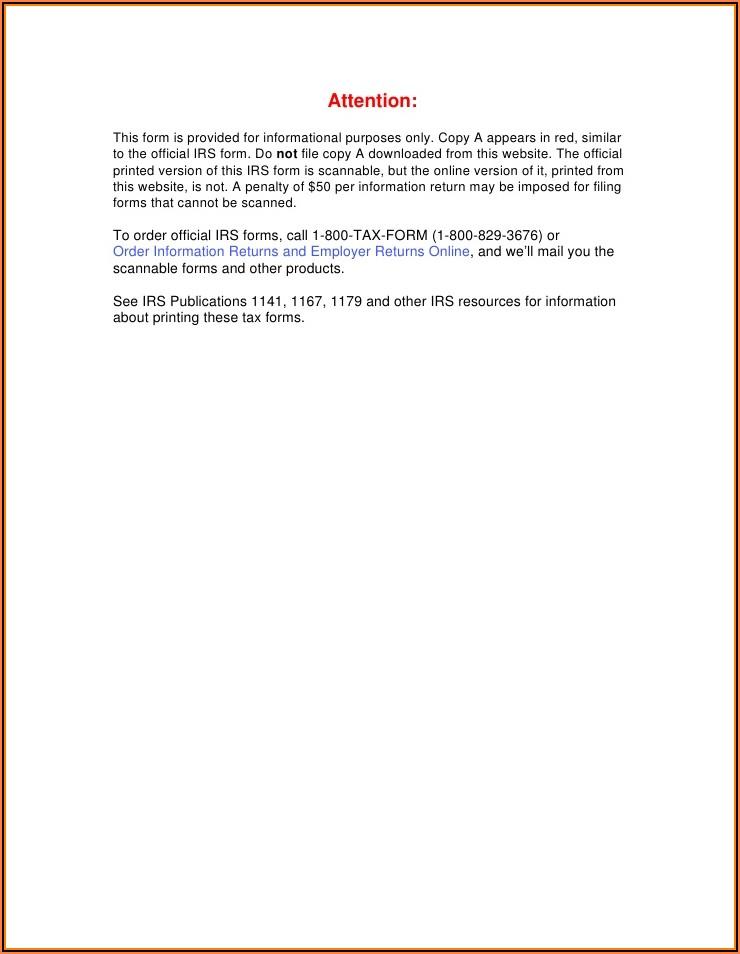 Cancellation Of Debt Form 1099 C