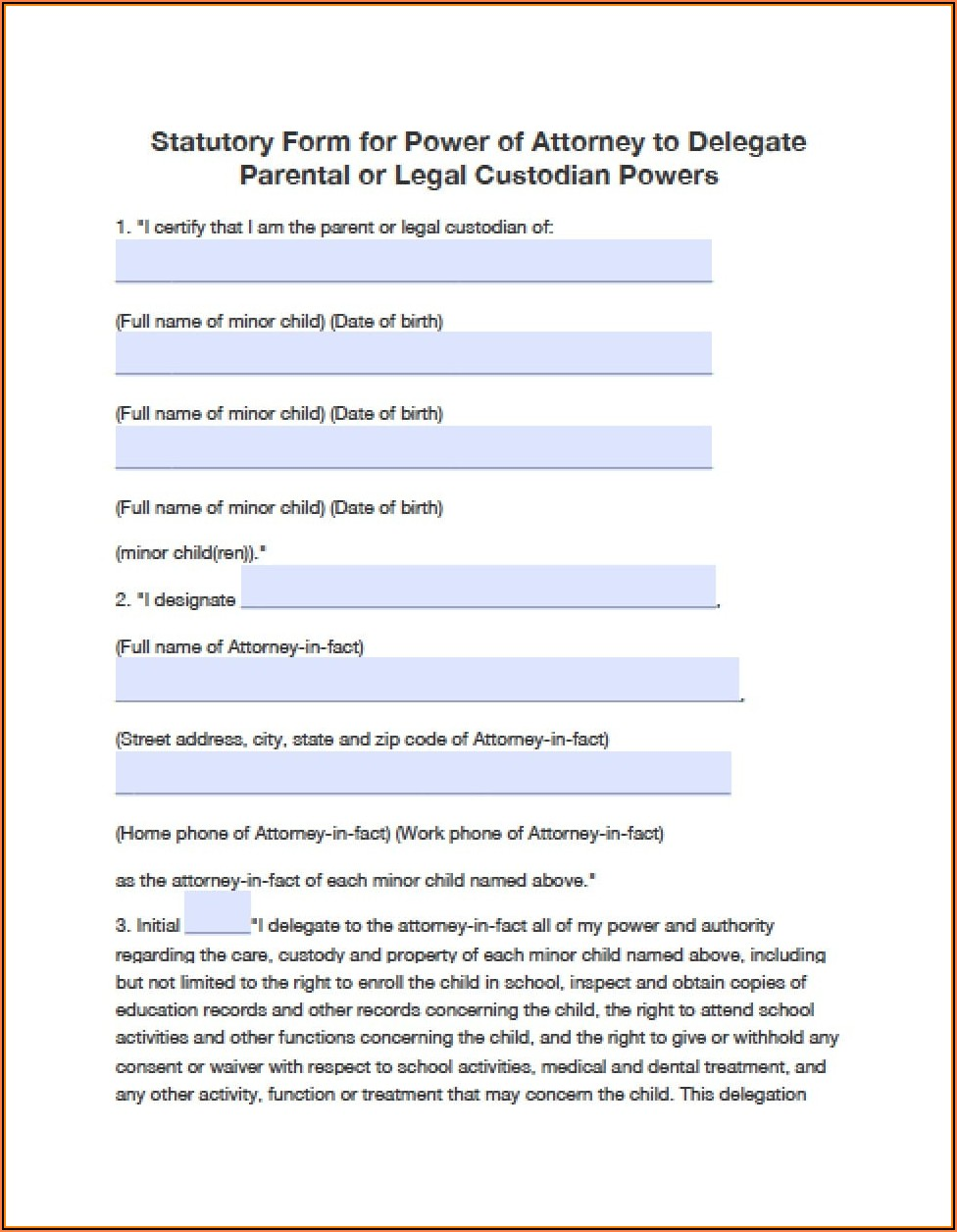 Durable Power Of Attorney Oklahoma Form