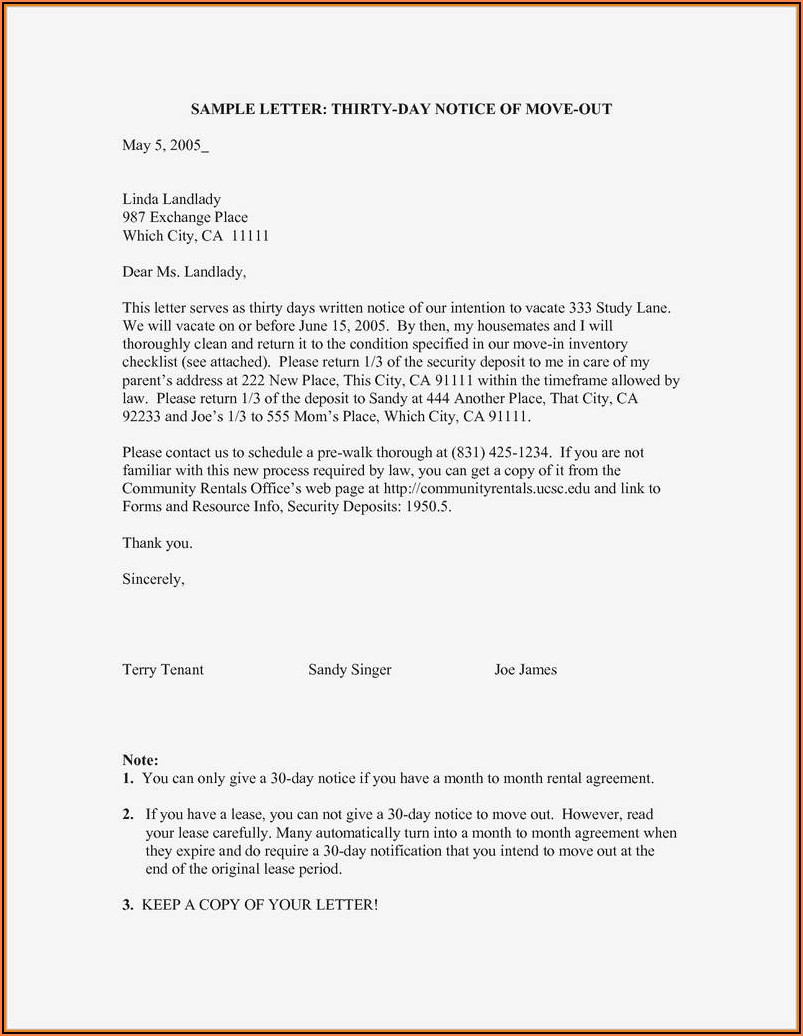Free California 3 Day Eviction Notice Form