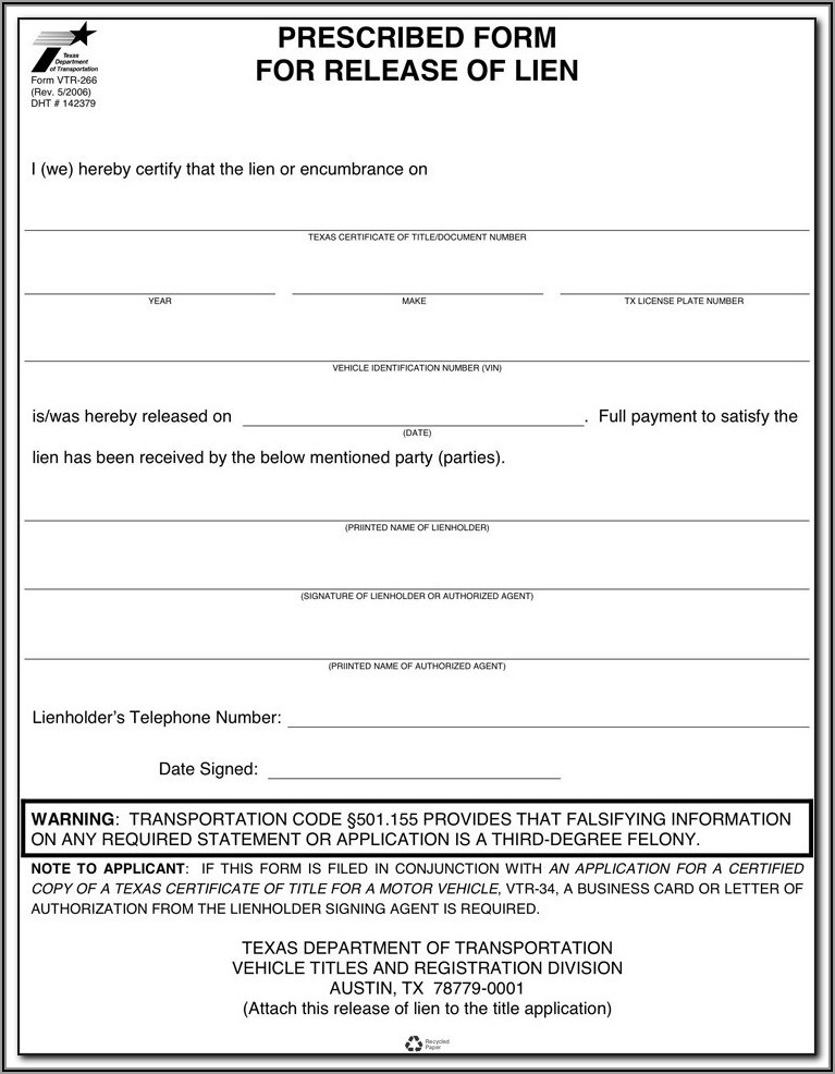 Free Lien Waiver Form Wisconsin