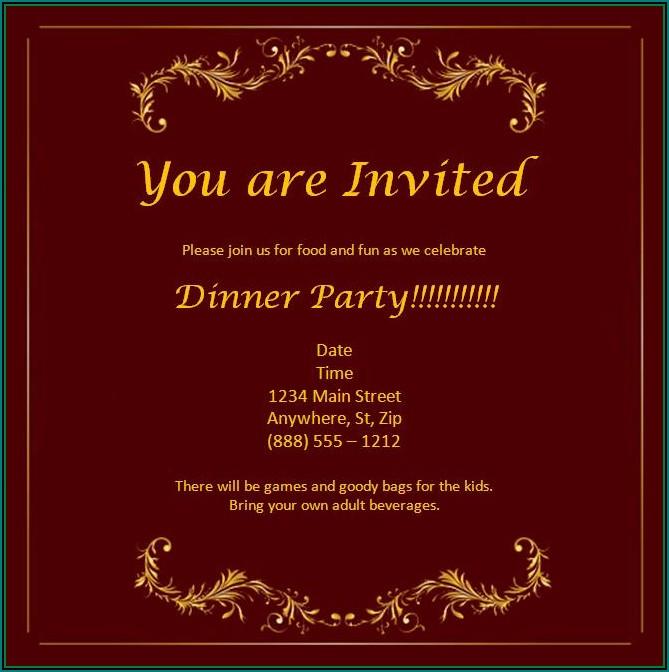 Free Online Christmas Invitation Maker