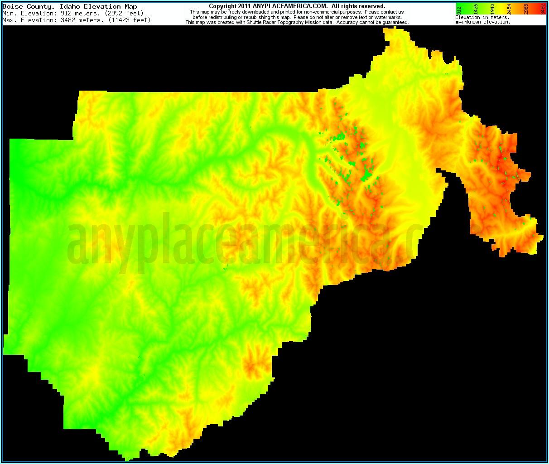 Free Topo Maps Idaho