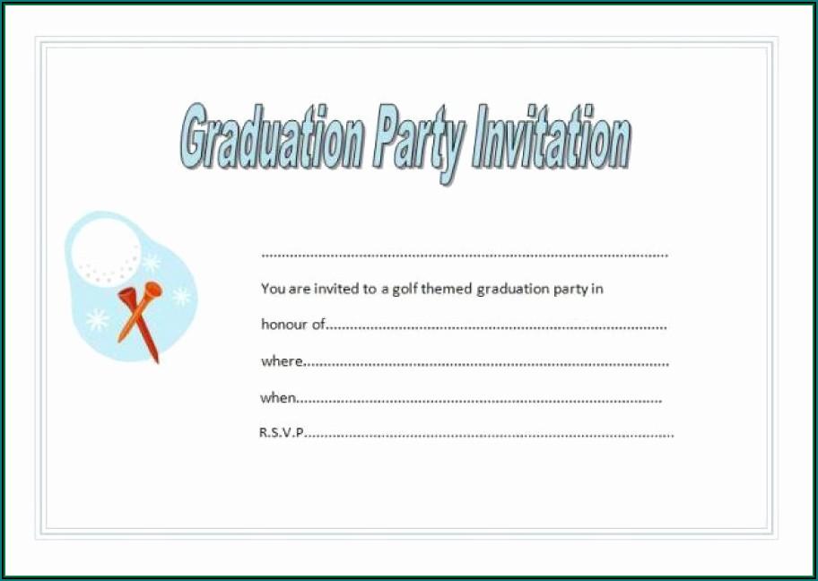 Graduation Reception Invitation Templates