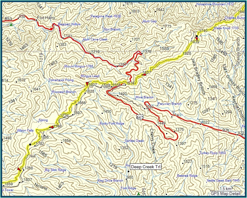 Hiking Trail Maps For Garmin Gps