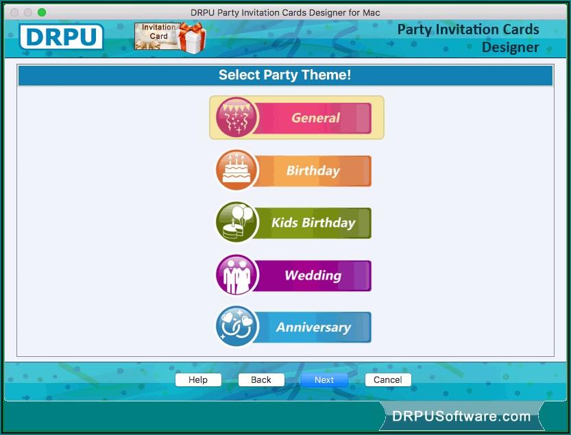 Invitation Maker Software For Mac