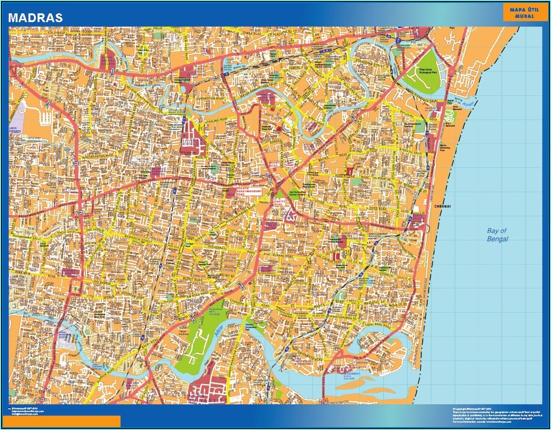 Laminated Wall Map Of Australia