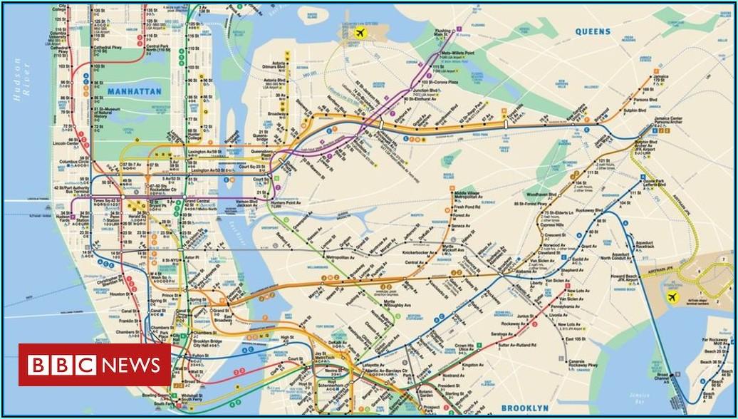 Maps Of New York Subways