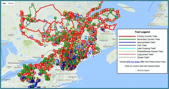 Michigan Snowmobile Gps Maps
