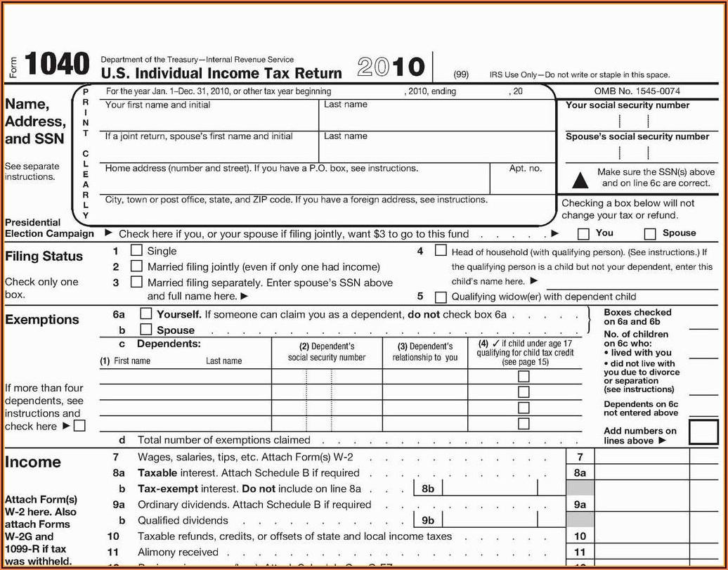 Printable Form 1099 R