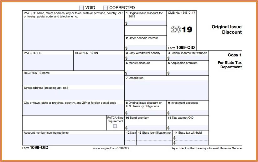 Printable Form 1099