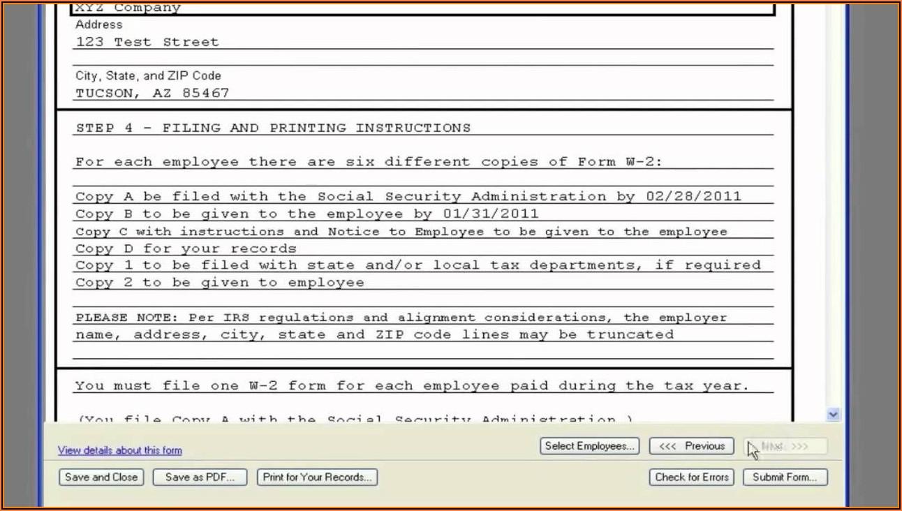 Quickbooks Online W 2 Forms