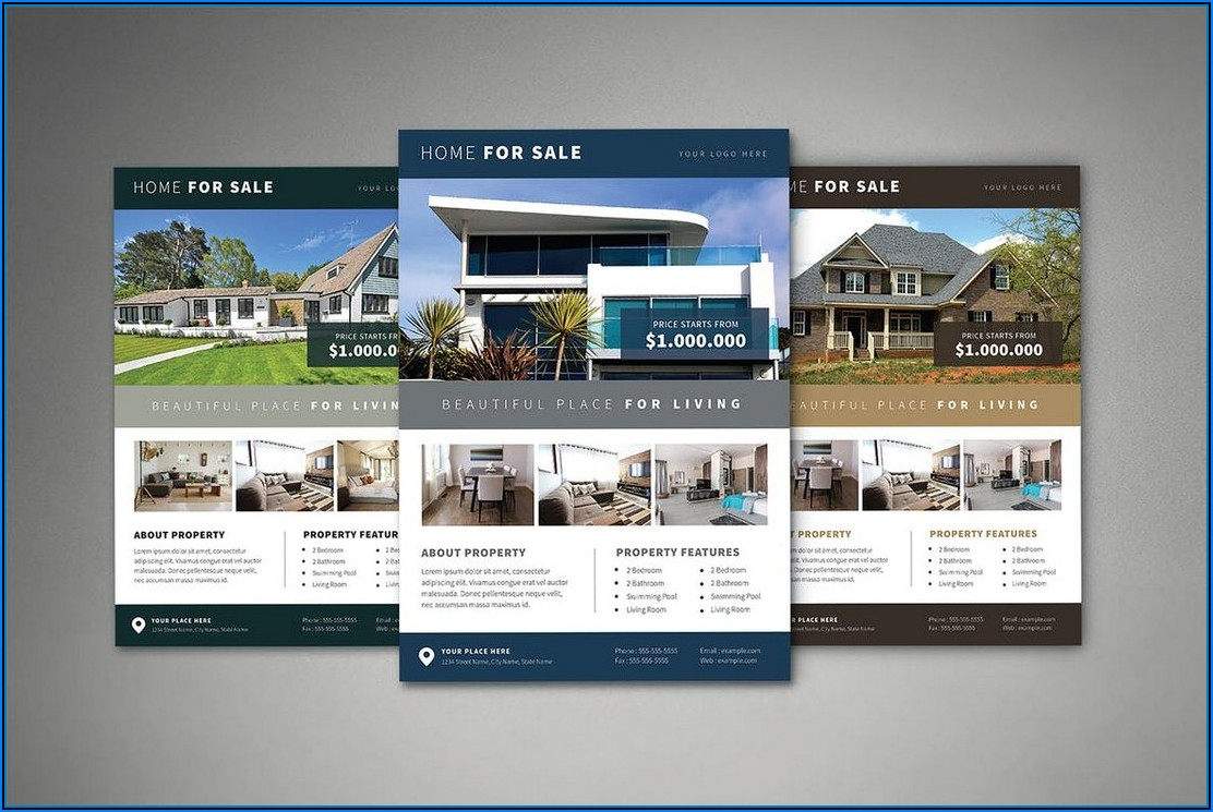 Real Estate Brochure Templates Word