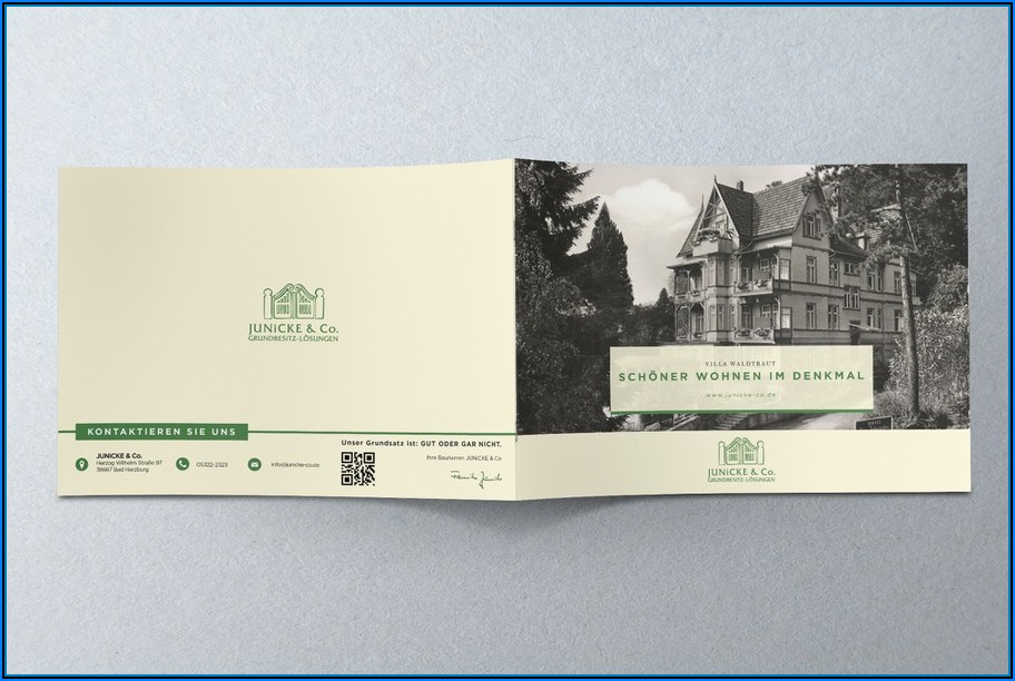 Real Estate Sales Brochure Template