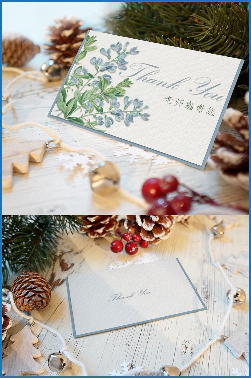 Seasons Greetings Card Templates Free Download