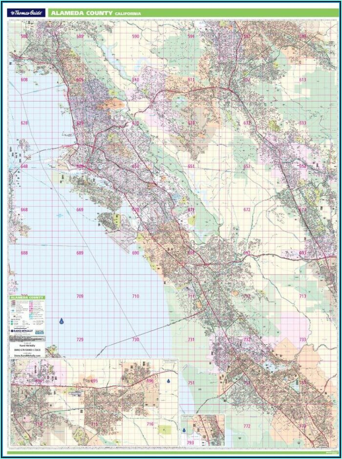 Thomas Brothers Map San Diego County