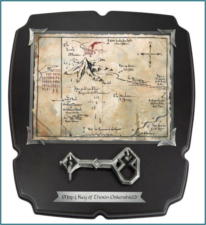 Thorin Oakenshield Map