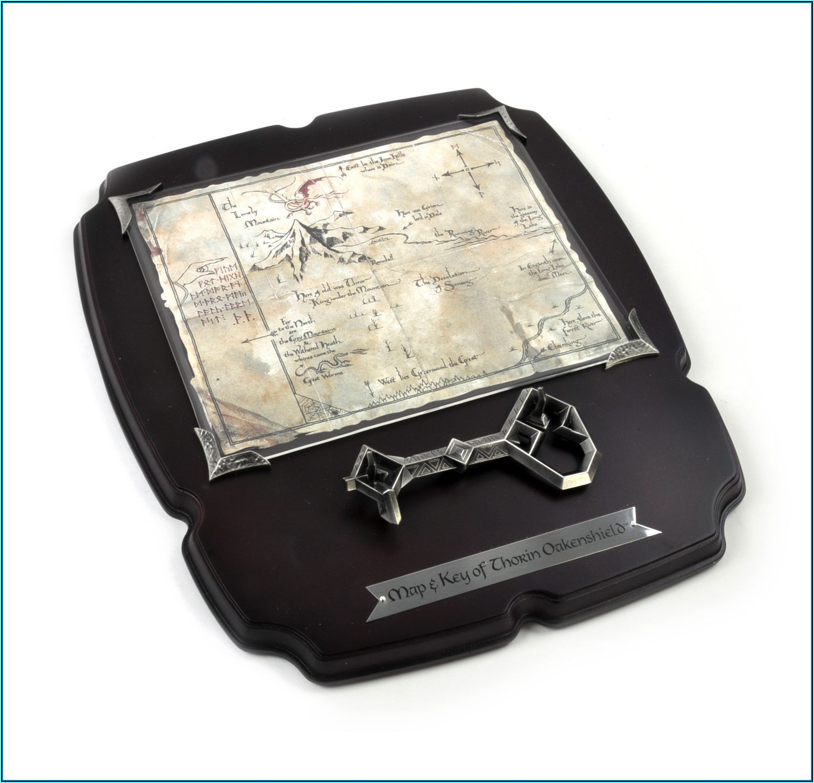 Thorin Oakenshield Map And Key