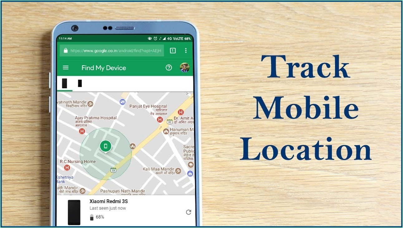 Track A Cell Phone With Google Maps