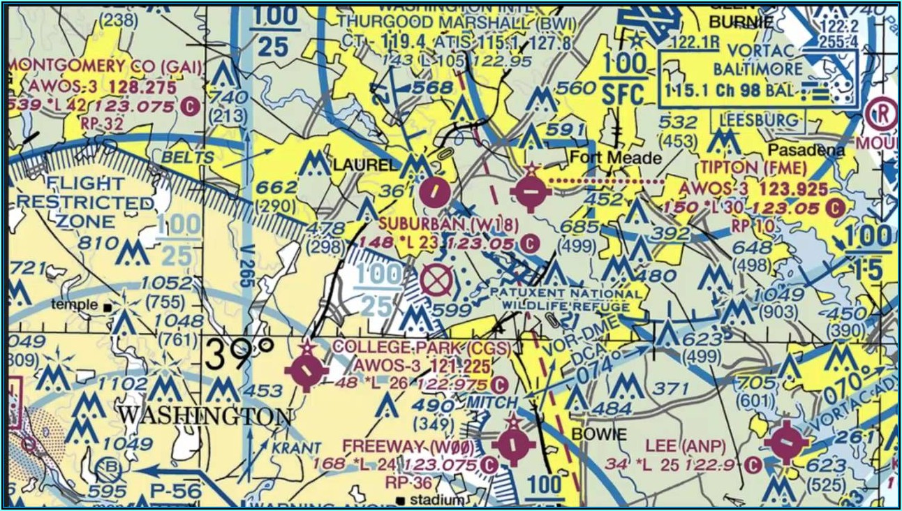 Understanding Aviation Sectional Maps