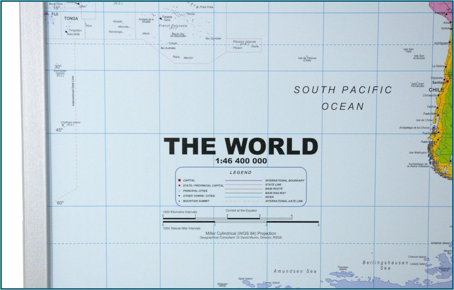 World Map Pinboard Online