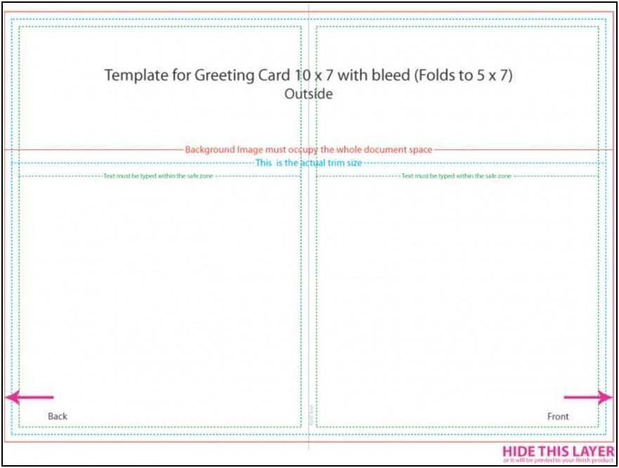 5 X 7 Postcard Template Microsoft Word