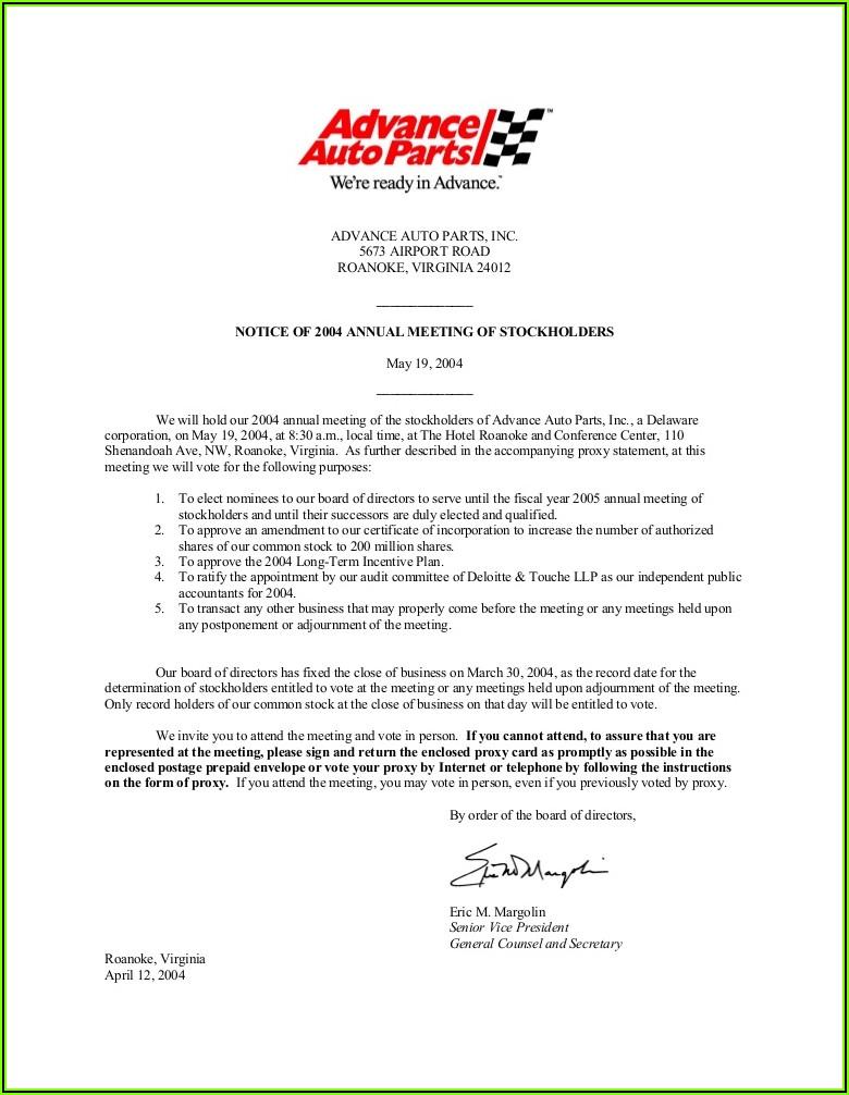 Advance Auto Parts Receipt Template