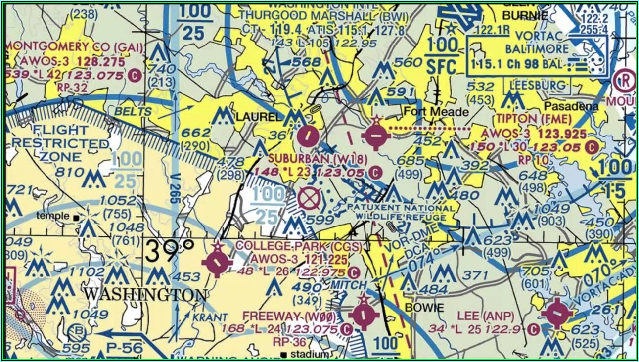 Airport Sectional Maps