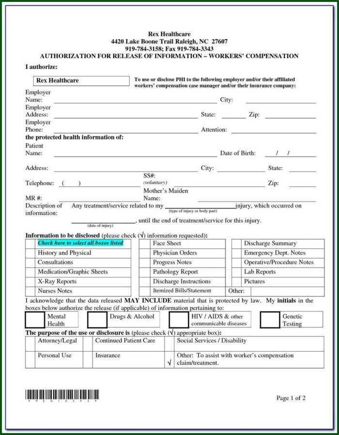 Arkansas Workers Compensation Waiver Form