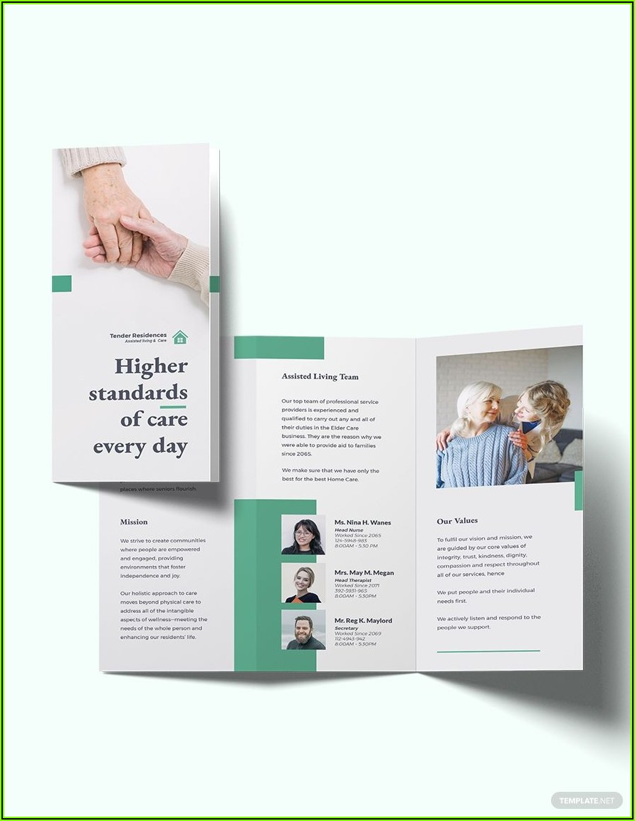 Assisted Living Website Templates
