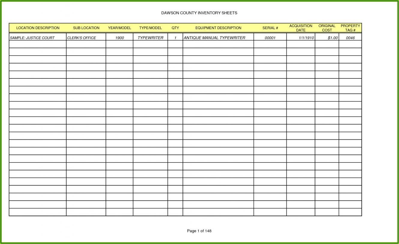 Blank Balance Sheet Template Excel