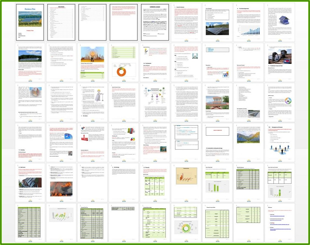 Business Plan Template For Mac Pages