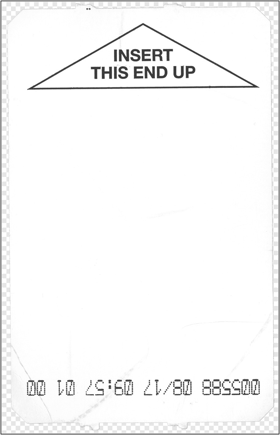 Car Parking Ticket Template