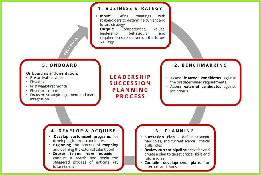 Career Succession Plan Template