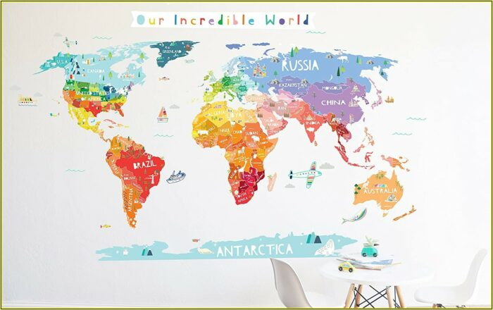 Decal World Map