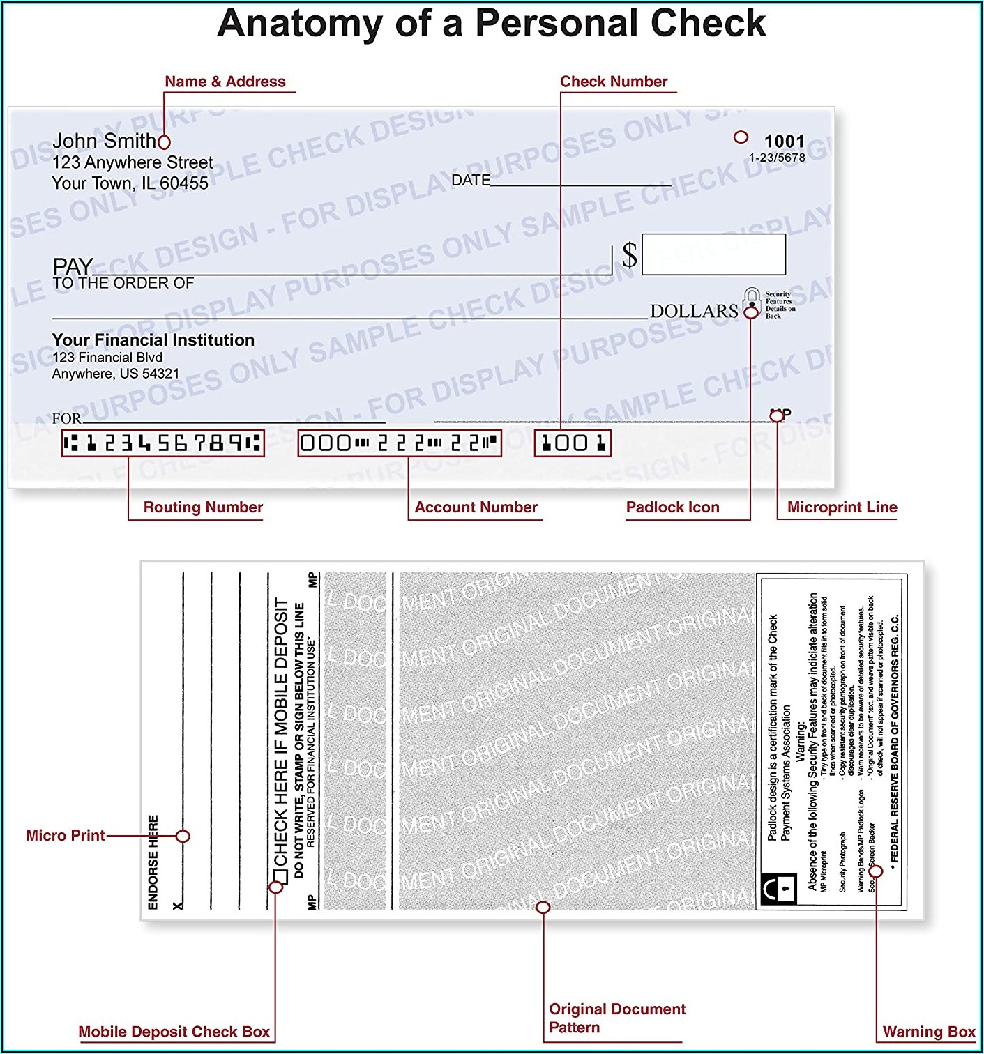 Deluxe Checks Reorder Form
