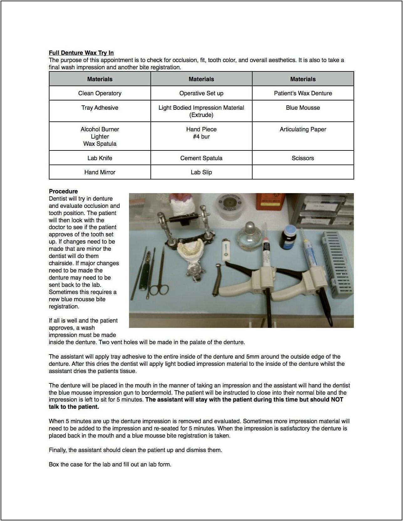 Dental Office Employee Handbook Template