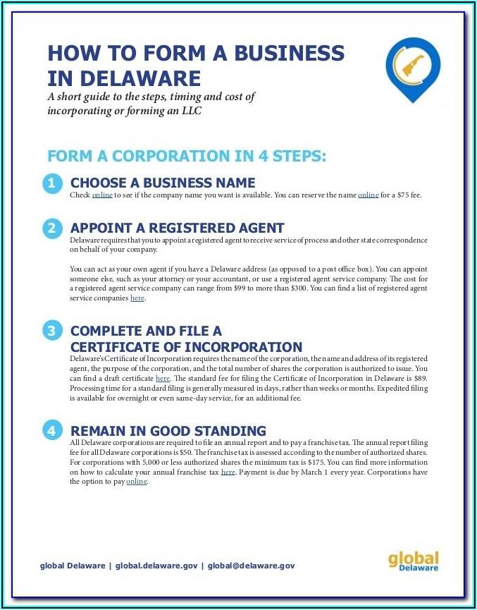 Dissolve Delaware Llc Forms