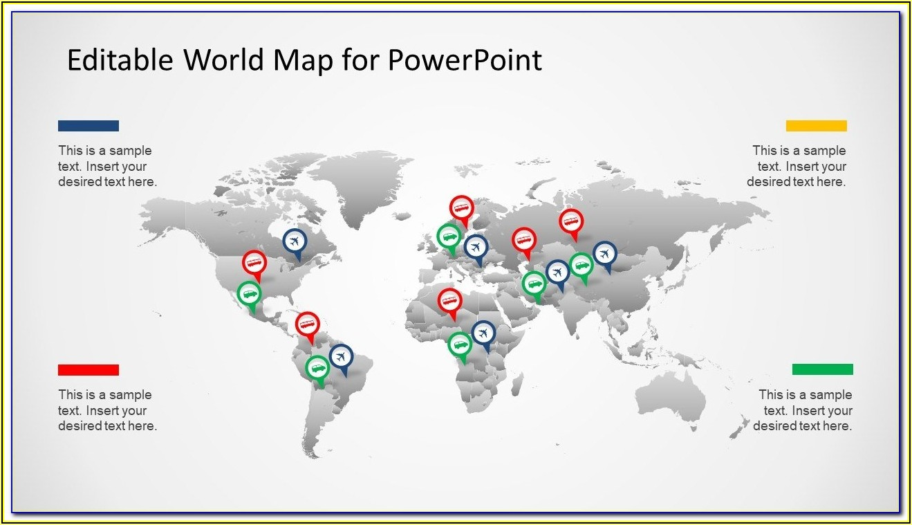 Editable Powerpoint Maps Free
