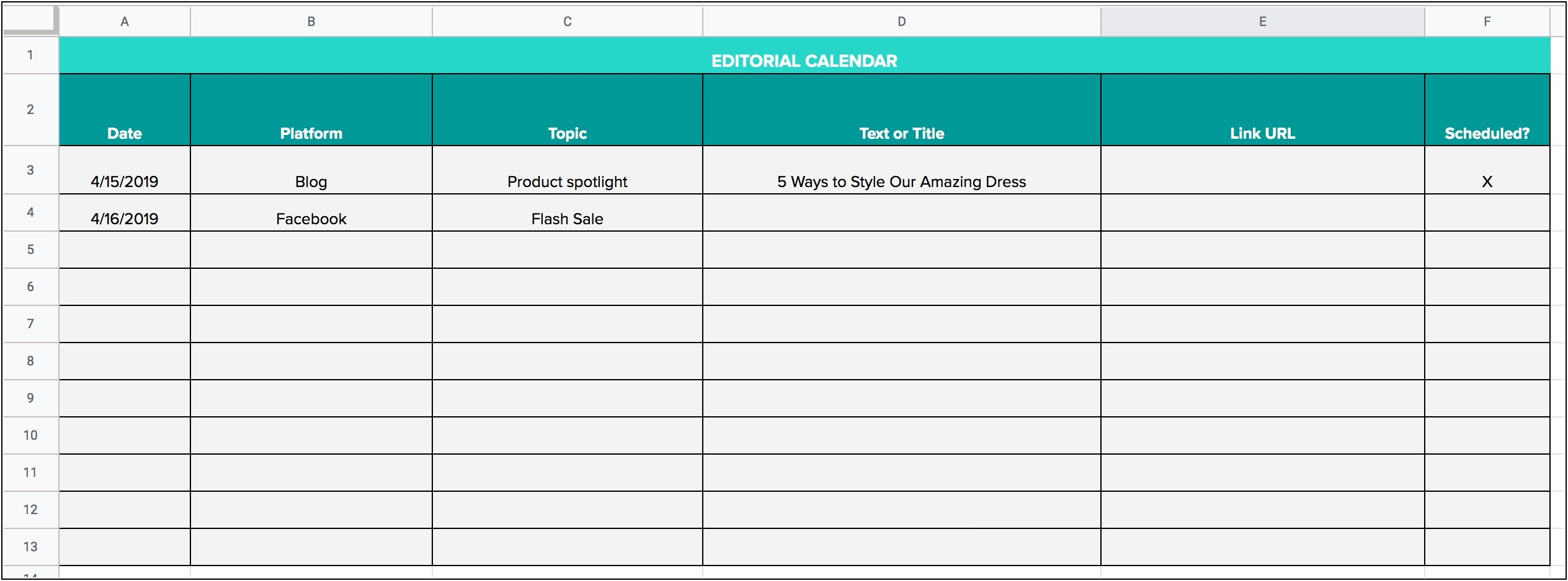 Excel Spreadsheet Templates For Sales Tracking